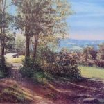 The Enchanted Place, Ashdown Forest, East Sussex – – Juliet Murray – Pastel Landscape Artist – Sussex Artists Gallery