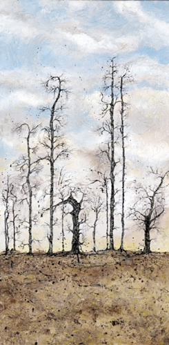 Trees - Guardians - West Sussex Artist - Bleau Shanay Hudson - Woodland Art - Sussex Artists Gallery