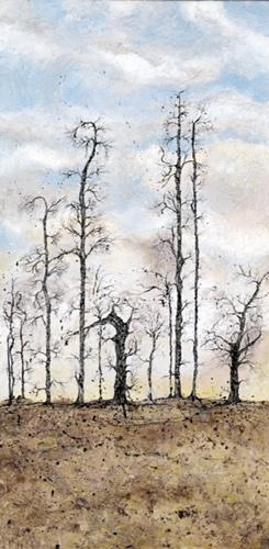 Trees - Guardians - West Sussex Artist - Bleau Shanay Hudson - Woodland Art - Sussex Artists Gallery