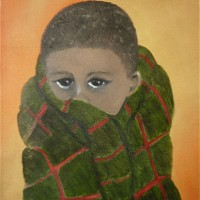 African Boy – Portrait in Oils – Jenny Rabie – Crawley, West Sussex Artist – Sussex Artists Gallery