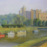 Sussex Art – Arundel Castle – West Sussex