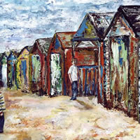 West Wittering Beach Huts West Sussex – Art Prints – Seaside Gallery