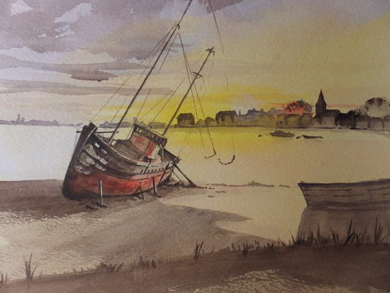 Bosham Creek Chichester Art Gallery