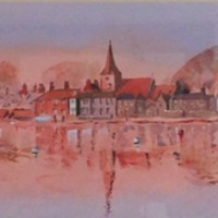 Bosham Harbour – Panorama Painting – West Sussex Art gallery