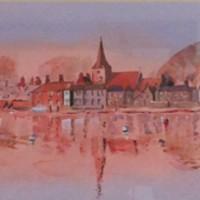 Bosham Harbour – Panorama Painting – West Sussex Art gallery