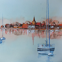Art Gallery – Bosham Harbour & Church Near Chichester West Sussex