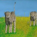 Cheetahs at the O.K. Corral – Horsham, West Sussex Artist – Roger Gasson