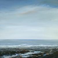 Lewes Coastal Artist Seascape – Leila Godden – Opal Meanders