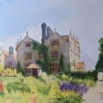 Gravetye Manor Hotel, East Grinstead Commissioned Painting – East Sussex Art Gallery