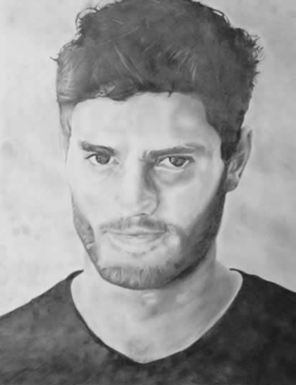 Jamie Dornan - Portrait - Jamie Sexton - Portrait Artist - Sussex Artists - Gallery