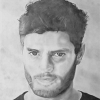 Jamie Dornan Portrait – Jamie Sexton – Portrait Artist – Sussex Artists – Gallery