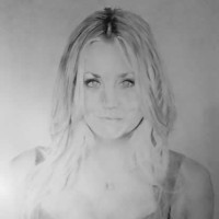 Kaley Cuoco Portrait – Jamie Sexton – Portrait Artist – Sussex Artists – Gallery