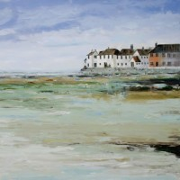 Bosham Village Painting – Art by Chris Elsden