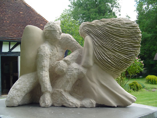 Limestone Sculpture - Pulborough West Sussex Sculptor and Artist Zeljko Ivankovic