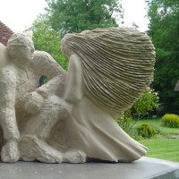 Limestone Sculpture- Pulborough West Sussex Sculptor and Artist Zeljko Ivankovic