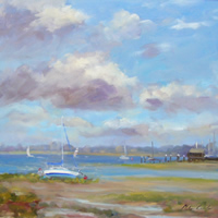 Low Tide at Bosham – West Sussex Art Gallery