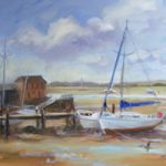 Chichester – Low Tide, Dell Quay – West Sussex Art Gallery