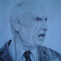 Paul Fairclough – Football Manager – Portrait – East Sussex Artist – 'Fro' (Derek Froggatt) – Wannock Artists