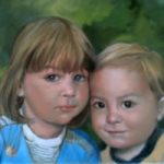 Portrait Painting of Children – Art by Colette Simeons