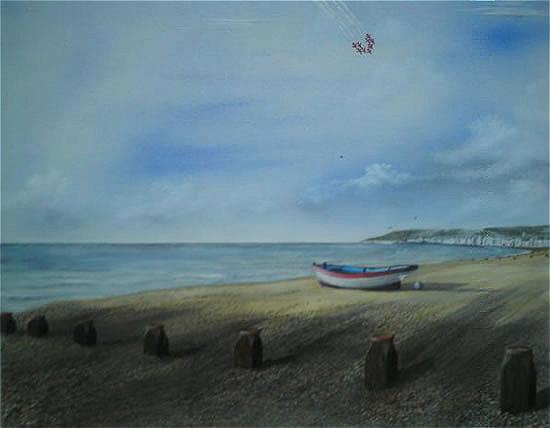 Red Arrows Beachy Head - East Sussex Artist - 'Fro' (Derek Froggatt) - Wannock Artists, East Sussex