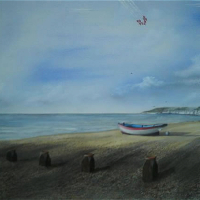 Red Arrows Beachy Head – East Sussex Artist – 'Fro' (Derek Froggatt) – Wannock Artists, East Sussex