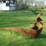 Steel Sculpture – Dragon – Pulborough West Sussex Sculptor and Artist Zeljko Ivankovic