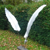 Fern Sculpture – Pulborough West Sussex Sculptor and Artist Zeljko Ivankovic