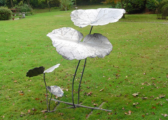 Sculpture - Ground Ivy - Pulborough West Sussex Sculptor and Artist Zeljko Ivankovic
