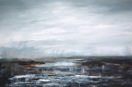 Seascape - Coastal Intervention 646 - Leila Godden - East Sussex Coastal Artist - Sussex Artists Gallery