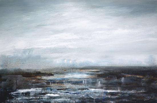 Seascape - Coastal Intervention 646 - Leila Godden - East Sussex Coastal Artist - Sussex Artists Gallery