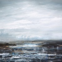 Seascape – Coastal Intervention 646 – Leila Godden – East Sussex Coastal Artist – Sussex Artists Gallery