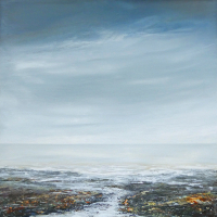 Seascape – Incoming Tide – Sussex Artists Gallery – Lewes Artist Leila Godden