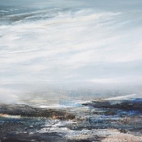 Seascape – Strata of Memory – Leila Godden – East Sussex Coastal Artist – Sussex Artists Gallery