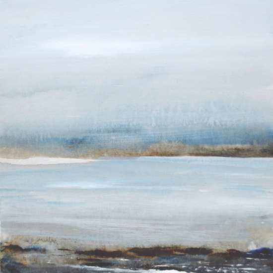 Seascape - Tread Softly 201 - Leila Godden - East Sussex Coastal Artist - Sussex Artists Gallery