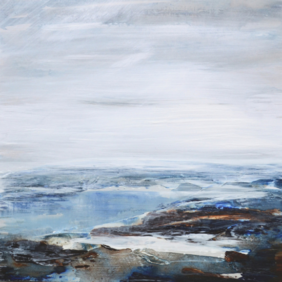 Seascape - Tread Softly 202 - Leila Godden - East Sussex Coastal Artist - Gallery