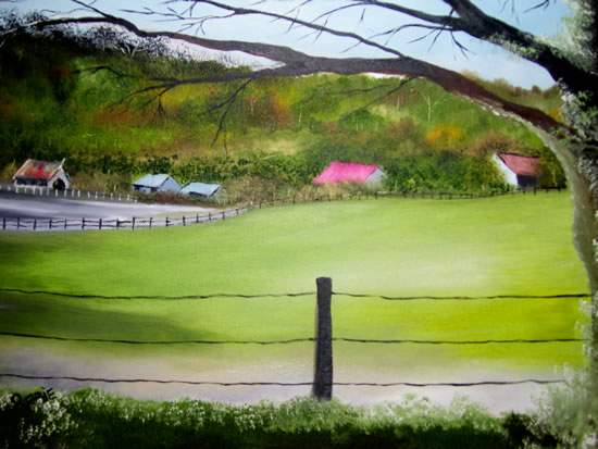 The Farm - Jenny Rabie - Crawley, West Sussex Artist - Sussex Artists Gallery