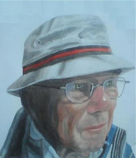 The Unknown Artist - East Sussex Artist - 'Fro' (Derek Froggatt) - Wannock Artists