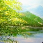 Ullswater Lake, Cumbria – Landscape Painting – Jenny Rabie – Crawley, West Sussex Artist – Sussex Artists Gallery