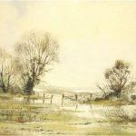 Water Meadows, Ripley, Surrey – Fine Art Prints – Sussex Artist – Audrey Laycock – Watercolour Gallery