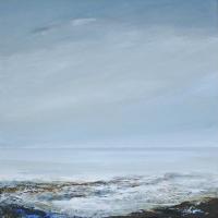 Waves – Cool Whisper – Coastal Artist Leila Godden from Lewes East Sussex