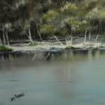 Winter at Tilgate – Jenny Rabie – Crawley, West Sussex Artist – Sussex Artists Gallery