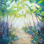 Promise of Spring – A Sussex Woodland Path – Gill Bustamante