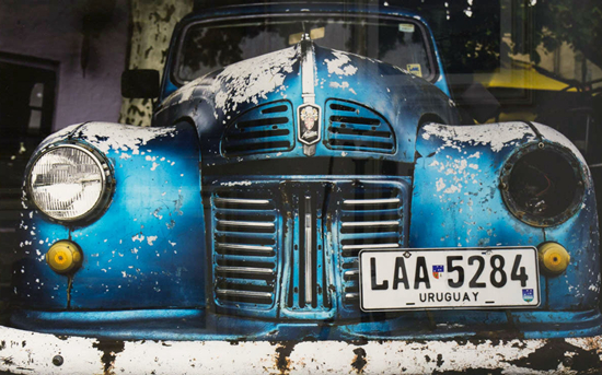 Ashley Cordwell - Fine Art Photograpy Prints - Vintage Vehicle - Uruguay