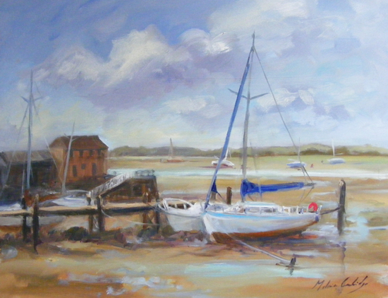Low Tide Dell Quay 1 - Melanie Cambridge