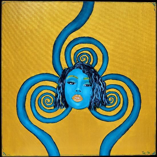 Vibrations - Expressionist Surrealist West Sussex Artist Toni Mo