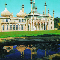 Brighton Pavilion - Famous Landmark - Acrylic Painting - West Sussex Landscape Artist Glen Smith