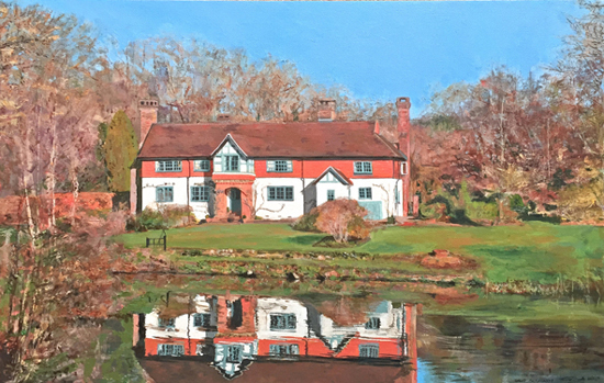 Great Saucelands, Ardingly, Sussex - Glen Smith - Sussex Art Gallery