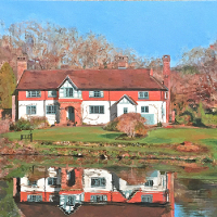 Great Saucelands, Ardingly, Sussex – Glen Smith Landscape Artist – Sussex Art Gallery