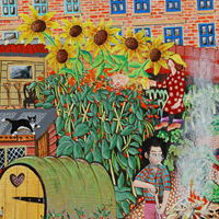 The Allotments by Artist Tony Todd