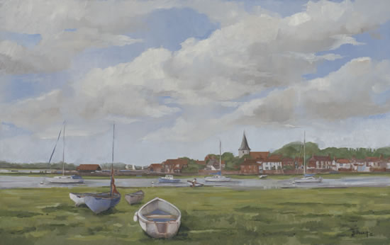 Bosham West-Sussex - Mark Dorsett Painting